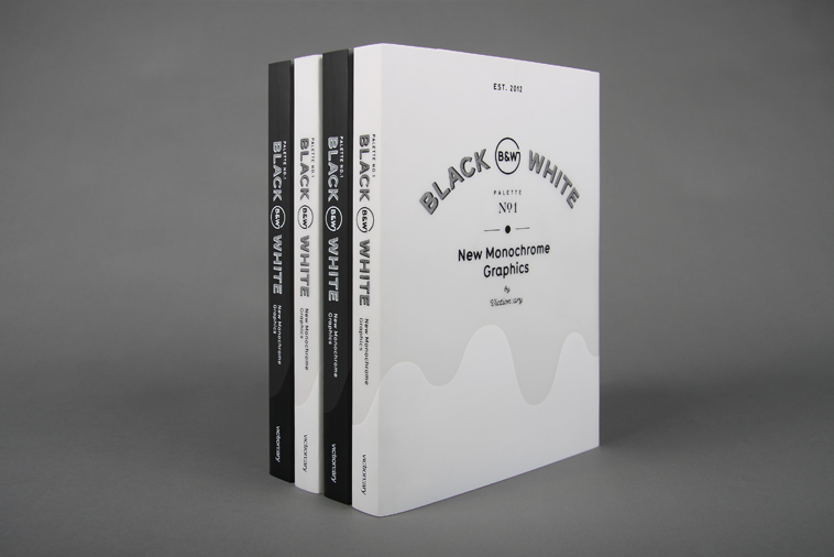 Black and White: New Monochrome Graphics by Victionary