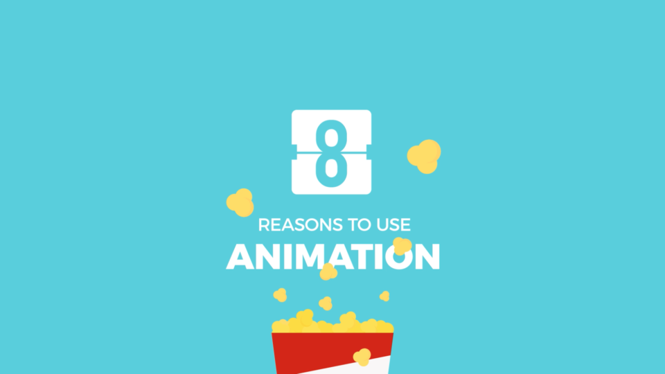 8 reasons to use animation in your marketing campaign