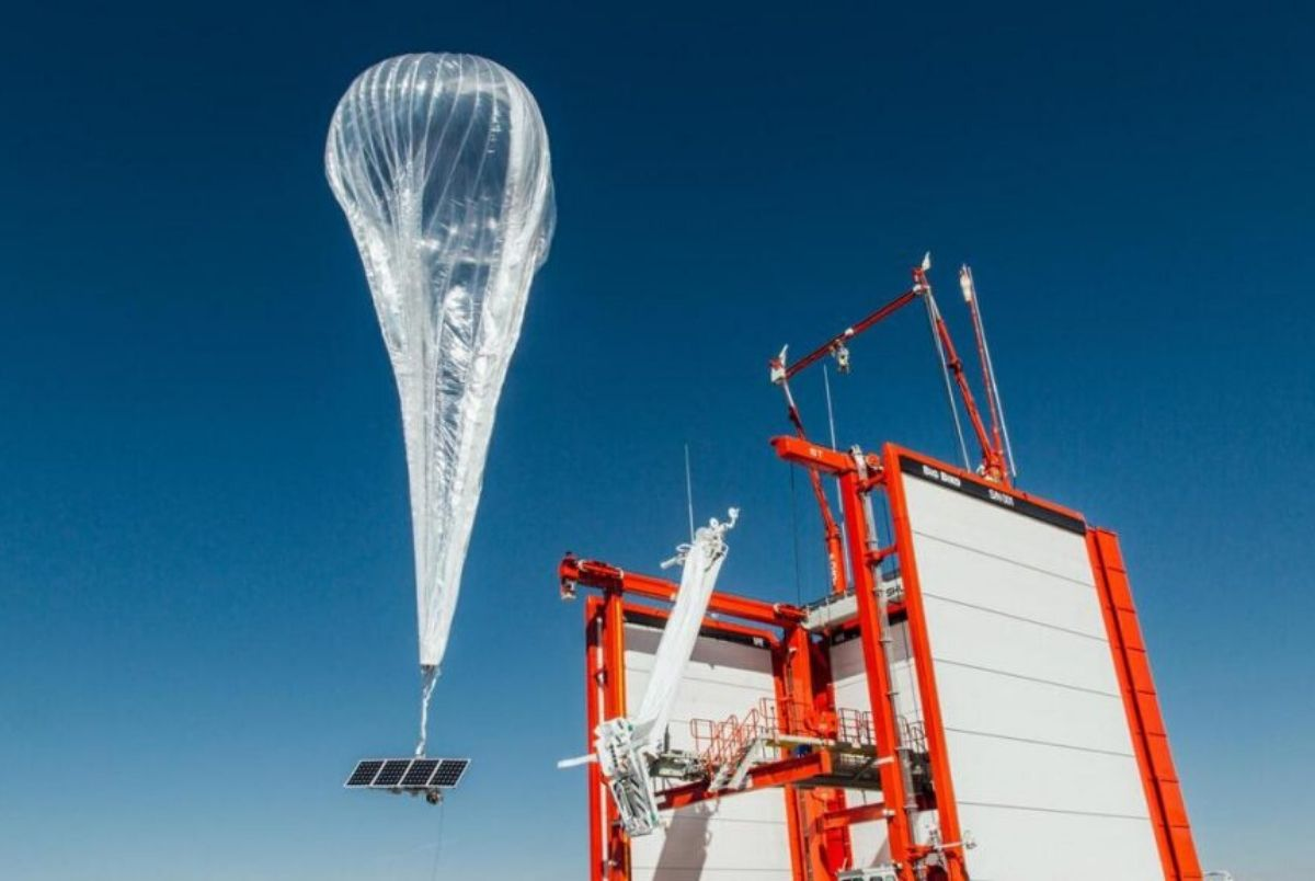 Internet-enabled hot air balloon to provide 4G coverage to remote areas of Kenya